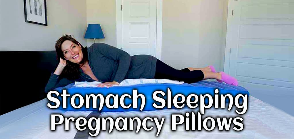 Stomach sleeping pregnancy pillow specially design for stomach sleeping during maternity.