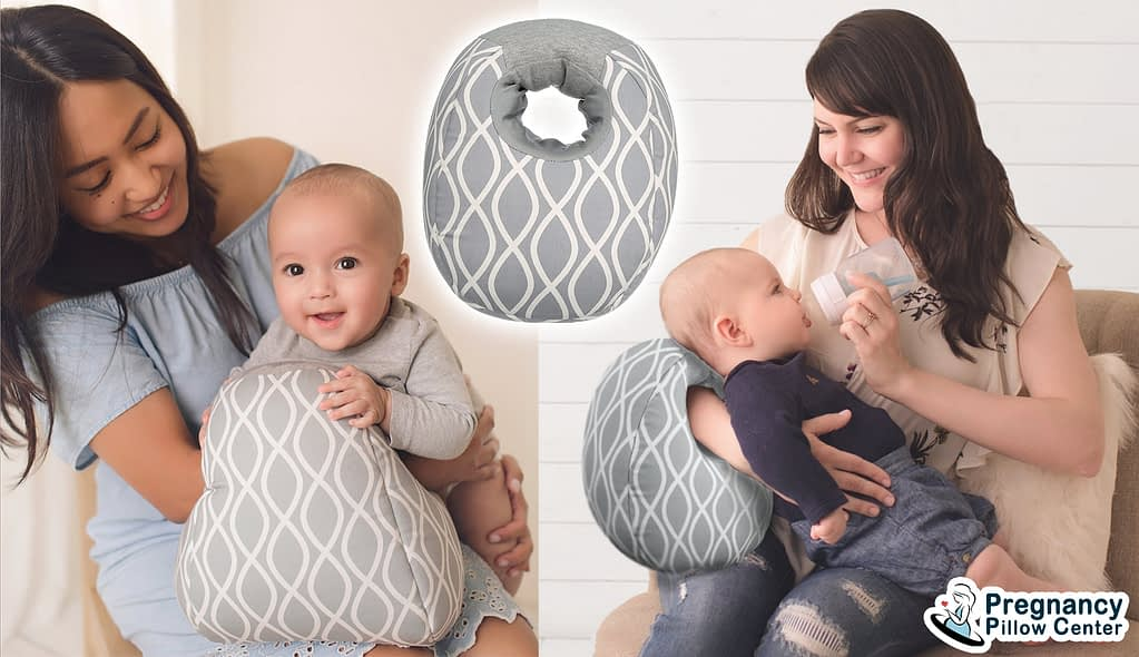 Arm breastfeeding pillow (Nursing pillow) retain one hand and use to bottle feeding, relaxation.