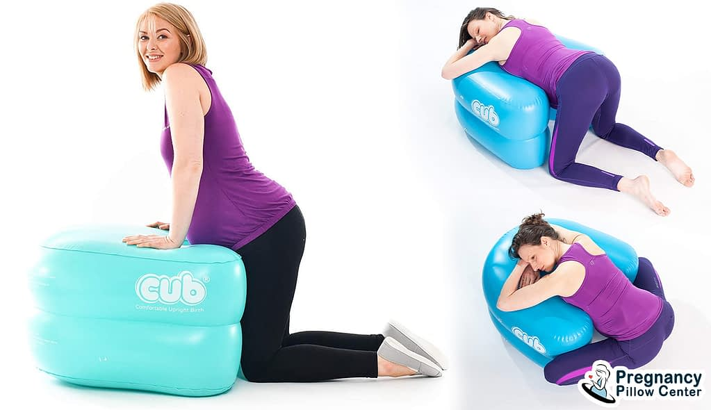 Birthing support inflatable pregnancy pillow