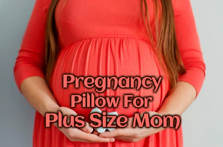 sprcificaly designed large pregnancy pillow provide more comfortability to plus size mom during maternity.